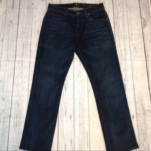 7 for All Mankind Dark Wash Luxe Performance Jeans